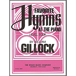 Willis Music Favorite Hymns At The Piano Level Four (416196)