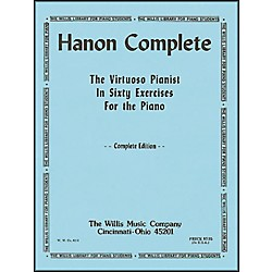 Willis Music Hanon Complete (The Virtuoso Pianist In Sixty exercises For Piano) (414477)