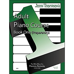 Willis Music John Thompson's Adult Piano Course Book One Preparatory (412639)