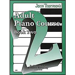 Willis Music John Thompson's Adult Piano Course Book Two (415763)