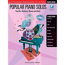 Willis Music John Thompson's Modern Course For Piano - Popular Piano Solos Fourth Grade Book/CD (416710)