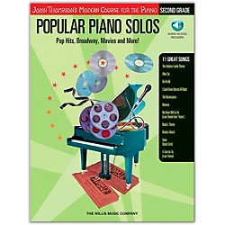 Willis Music John Thompson's Modern Course For Piano - Popular Piano Solos Grade 2 Book/CD (416708)