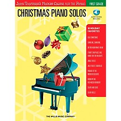 Willis Music John Thompson's Modern Course For The Piano - Christmas Piano Solos First Grade Book/CD (416792)