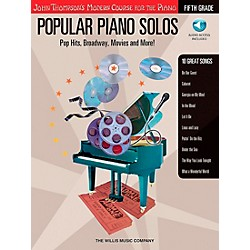 Willis Music John Thompson's Modern Course For The Piano - Popular Piano Solos Fifth Grade Book/CD (416711)