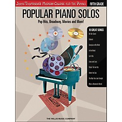 Willis Music John Thompson's Modern Course For The Piano - Popular Piano Solos Fifth Grade Book (416695)