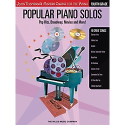 Willis Music John Thompson's Modern Course For The Piano - Popular Piano Solos Grade 4 (416694)
