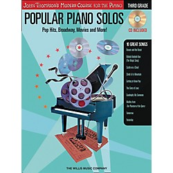 Willis Music John Thompson's Modern Course For The Piano - Popular Piano Solos Grade three (416693)