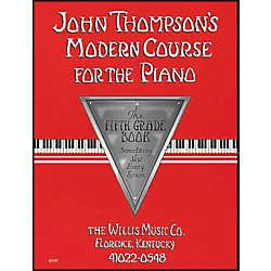 Willis Music John Thompson's Modern Course For The Piano Fifth Grade Book (412638)