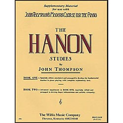 Willis Music John Thompson's Modern Course For The Piano Hanon Studies Book One (412225)