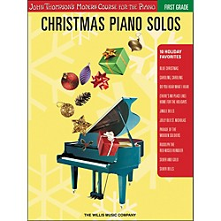 Willis Music John Thompson's Modern Course for the Piano - Christmas Piano Solos First Grade (416787)
