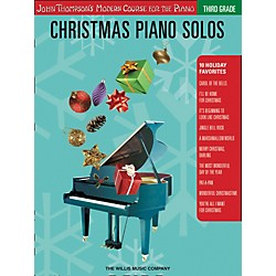 Willis Music John Thompson's Modern Course for the Piano - Christmas Piano Solos Third Grade (416789)