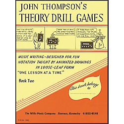 Willis Music John Thompson's Theory Drill Games Book 2 (414163)