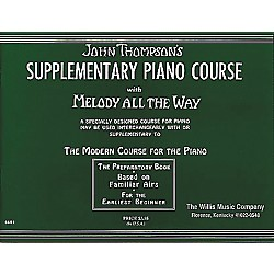 Willis Music Melody All The Way - Preparatory Book Early Elementary Piano (413233)