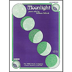 Willis Music Moonlight Mid Elementary Piano Solo by William Gillock (404738)