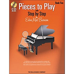 Willis Music Pieces To Play Book 5 Book/CD (416776)