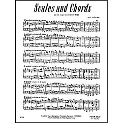 Willis Music Scales And Chords In All Major & Minor Keys by Louis Kohler (413428)