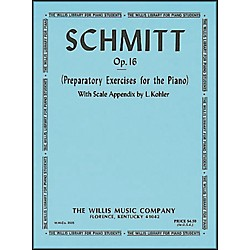 Willis Music Schmitt Preparatory Exercises for The Piano Opus 16 (409596)