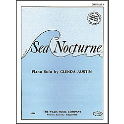 Willis Music Sea Nocturne Mid-Intermediate Level by Glenda Austin (405171)
