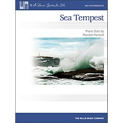 Willis Music Sea Tempest - Mid-Intermediate Piano Solo Sheet (416844)