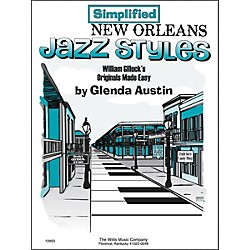 Willis Music Simplified New Orleans Jazz Styles Later Elementary Piano by Glenda Austin (406603)