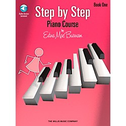 Willis Music Step By Step Piano Course Book 1 Book/CD (416766)