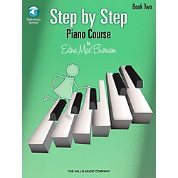 Willis Music Step By Step Piano Course Book 2 Book/CD Pkg (416767)
