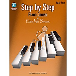 Willis Music Step By Step Piano Course Book 4 Book/CD (416769)