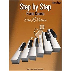 Willis Music Step By Step Piano Course Book 4 (414845)