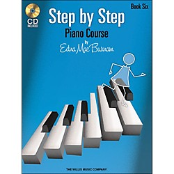 Willis Music Step By Step Piano Course Book 6 Book/CD (416771)