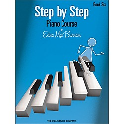 Willis Music Step By Step Piano Course Book 6 (414847)