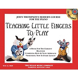 Willis Music Teaching Little Fingers To Play Book/CD (406523)