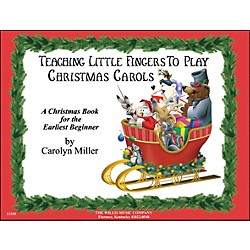 Willis Music Teaching Little Fingers To Play Christmas Carols (406391)