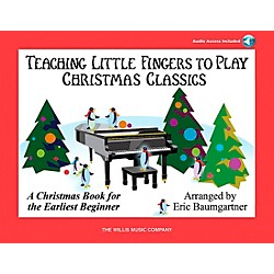 Willis Music Teaching Little Fingers To Play Christmas Classics (Book/CD) (416824)