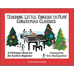 Willis Music Teaching Little Fingers To Play Christmas Classics Book (416825)