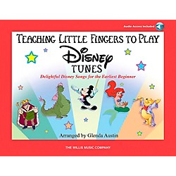 Willis Music Teaching Little Fingers To Play Disney Tunes Book/CD (416749)