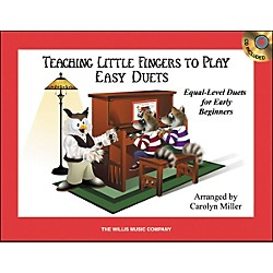 Willis Music Teaching Little Fingers To Play Easy Duets 1 Piano, 4 Hands Book/CD (416831)