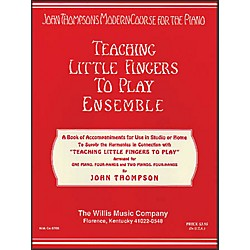 Willis Music Teaching Little Fingers To Play Ensemble - 1 And 2 Pianos, 4 Hands (412228)