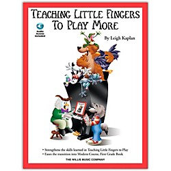 Willis Music Teaching Little Fingers To Play More Book/CD (406527)