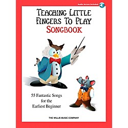 Willis Music Teaching Little Fingers To Play Songbook Book/2CD's (416813)