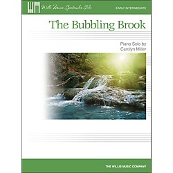 Willis Music The Bubbling Brook - Early Intermediate Piano Solo Sheet (416841)