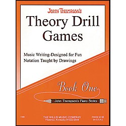 Willis Music Theory Drill Games Book 1 (414132)