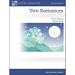 Willis Music Two Romances Mid-Intermediate Piano Solo by Naoko Ikeda (416801)