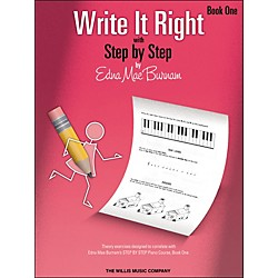 Willis Music Write It Right - Book 1 (404471)