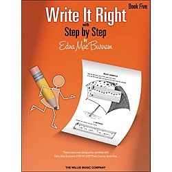 Willis Music Write It Right Book 5 (404477)