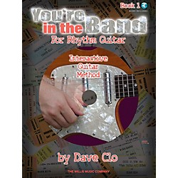 Willis Music You're In The Band - Interactive Guitar Method Rhythm Guitar Book 1 Book/CD (406773)