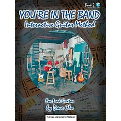 Willis Music You're In The Band Interactive Guitar Method Book 2 For Lead Guitar Book/CD (406396)