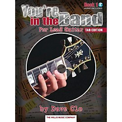 Willis Music You're In The Band Lead Guitar Book 1 Tab Edition Book/CD (416714)