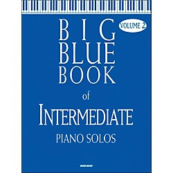 Word Music Big Blue Book Of Intermediate Piano Solos V2 (309423)