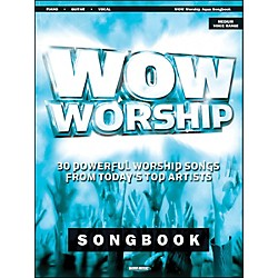 Word Music Wow Worship (Aqua) arranged for piano, vocal, and guitar (P/V/G) (309973)