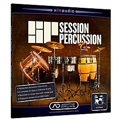 XLN Audio ADpak Session Percussion - Expansion Pack for Addictive Drums (1096-10)